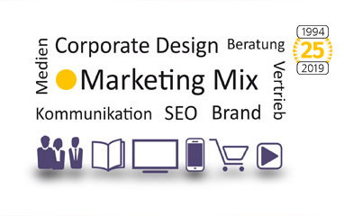 Marketing & Corporate Design Marketing Mix Werbung