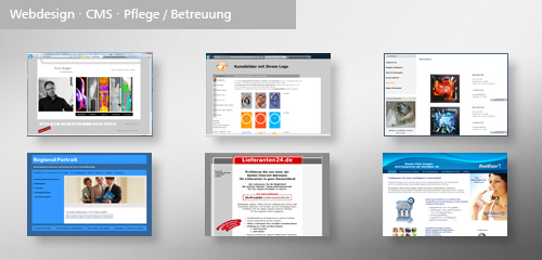 Websites, Relaunch, Optimierung