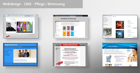 Webdesign cms pflege und betreuung thomas roger schmidt grafik